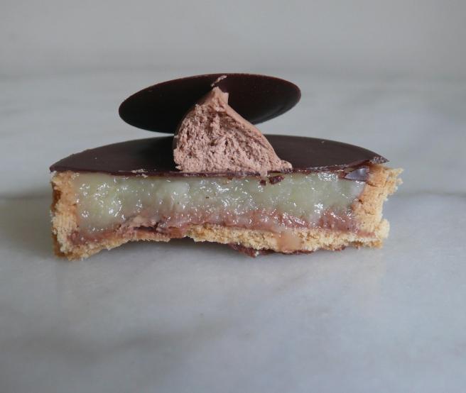 Gâté / Tartelette poire 2 chocs (2) - Miss Karu Little Sweets